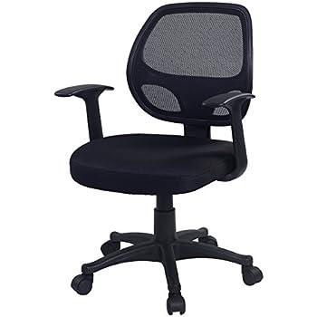 Costway Adjustable Ergonomic Mesh Swivel Computer Office Desk Durable Mid-back Task Chair