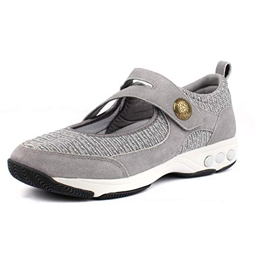 Therafit Mary Jane Lite Adjustable Shoe for Plantar Fasciitis/Foot Pain Grey
