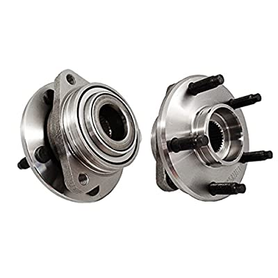 Callahan 513215X2 [2] Pair FRONT Premium Grade [ 5 Lug Non-ABS ] Wheel Hub Bearing Assemblies [ 513215 ]: Automotive