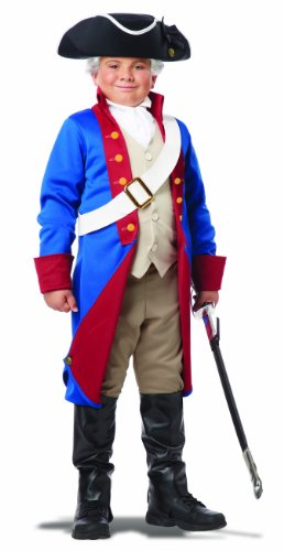 Historical Costumes - California Costumes American Patriot Child Costume, Medium