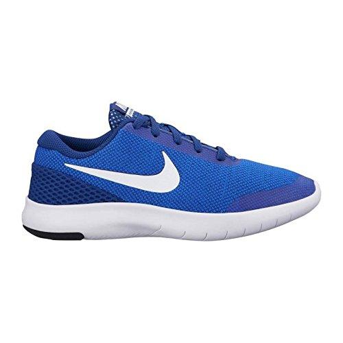Nike Boy's Flex Experience RN 7 (GS) Running Shoes (6 M US Big Kid, Hyper Royal/White) by Nike