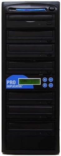 Produplicator 1 to 6 24X CD DVD Duplicator Copier with Nero Essentials CD/DVD Burning Software [並行輸入品]