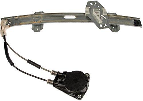 [Dorman 740-198 Front Driver Side Replacement Manual Window Regulator for Honda Civic] (Window Regulator 4 Door)