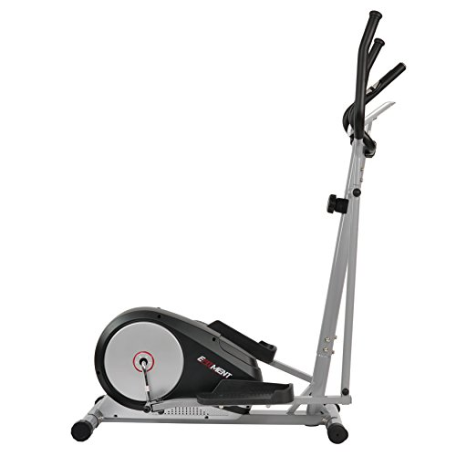 Magnetic Elliptical Machine Trainer w/ LCD Monitor and Pulse Rate Grips by EFITMENT E006