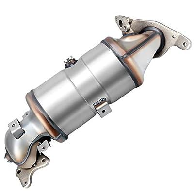 Catalytic Converter for 2006-2011 Honda Civic 1.8L L4 Direct-Fit High Flow Series (EPA Compliant): Automotive