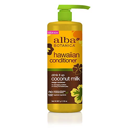 Alba Botanica Drink It Up Coconut Milk Hawaiian Conditioner, 32 oz. ()