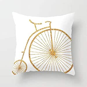 Nitty Witty Designs Cushion - Golden Ride
