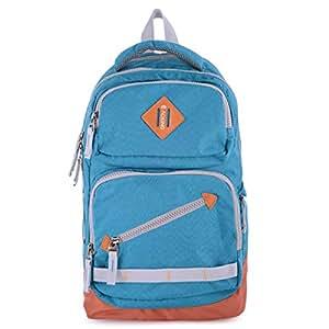 Aoking JN47581 Fashion Backpack Unisex - Nylon, Blue