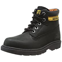 Caterpillar boys Caterpillar Boys Colorado Leather Boots Black Leather