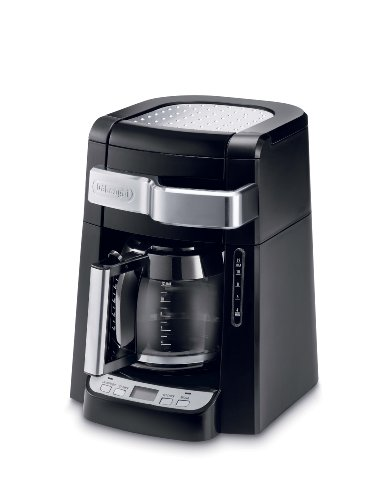 DeLonghi DCF2212T 12-Cup Glass Carafe Drip Coffee Maker, Black image