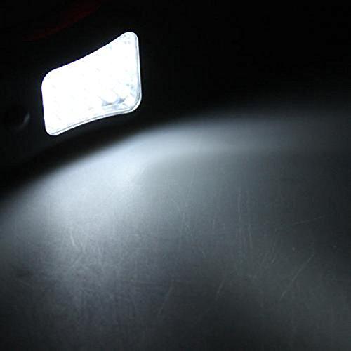 EXSZS lámpara que acampa portable al aire libre 28 conducido la gancho de colgar la luz de trabajo de la conducido antorcha luz magnética 7e009e