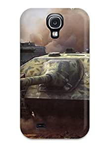 Series Skin Case Cover For Galaxy S4(panther Tank)