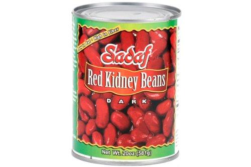 Sadaf Red Kidney Beans (Dark), 20 oz (Pack of 12) by Sadaf