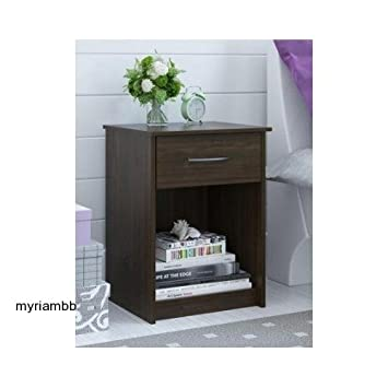 Amazon.com: Set Of 2 Nightstand MDF End Tables Pair Bedroom Table Furniture  Multiple Colors (St. Alder): Kitchen U0026 Dining