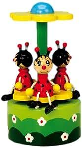 Spieluhrenwelt 43781 - Juguete de cuerda, diseño de mariquitas