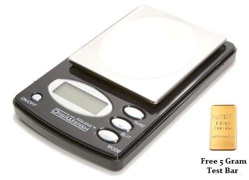 - Digital JEWELER'S SCALE 100 x 0.01g Weighs Gold Silver Diamond Gemstone Jewelry Free Puritest 5g Testing Stone