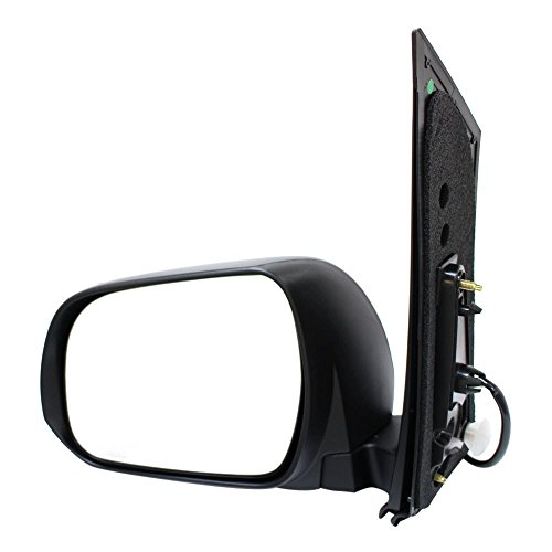 Titanium Plus 2012-2013 Toyota Sienna Front,Left Driver Side DOOR MIRROR TEXTURE (Toyota Sienna Left Door Mirror)