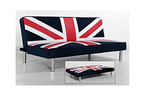 Union Jack Klik Klak Sofa Bed (Union Jack Futon)