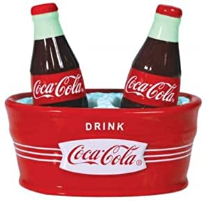 Ice Cold Coca-Cola Salt & Peppers Shakers Set Westland