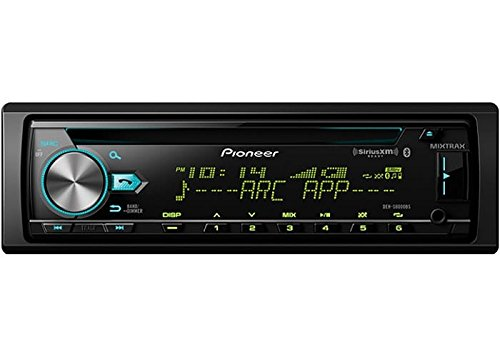 Pioneer DEH-S6010BS CD Receiver with Built in Bluetooth, USB, Aux Input, SiriusXM ()