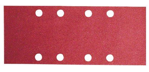 Bosch 2 609 256 A97 - Juego de hojas de lija de 10 piezas para lijadora orbital 2609256A97