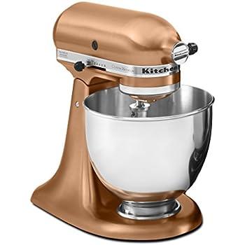 Amazon Com Kitchenaid Ksm152pscp 5 Qt Custom Metallic