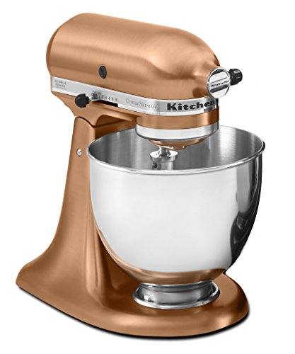 Cheap KitchenAid RRK150CP 5 Qt. Artisan Series Stand Mixer – Satin Copper (Certified Refurbished)