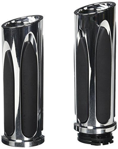 Arlen Ness 07-050 Chrome Soft-Touch Grip