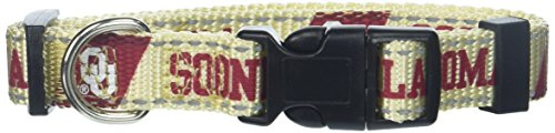 Pet Goods NCAA Oklahoma Sooners Dog Collar, Small