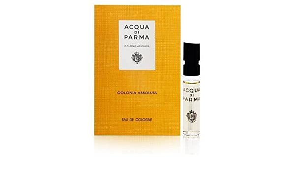 Amazon.com : Acqua Di Parma Colognia Assoluta by Acqua di Parma 0.05 oz Eau de Cologne Sampler Vial Spray : Eau De Parfums : Beauty
