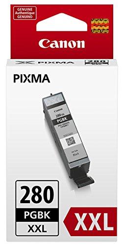 Canon PGI-280 XXL Pigment Black Ink Tank, Compatible to: TS8120,  TS6120, TR7520, TR8520, TS9120, TS8120 Compatible Black Pigment