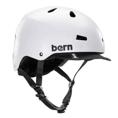 Bern(バーン) White MACON XL:59-60.5 VISOR Satin White Bern(バーン) XL:59-60.5 Satin White B00H7YWR4Y, タイヤエイト:84b9e77c --- itxassou.fr