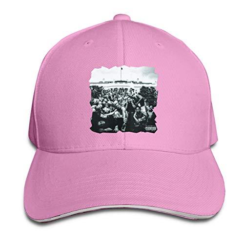 - MICHAELM Adult Kendrick Lamar to Pimp A Butterfly Adjustable Sandwich Baseball Caps Trucker Caps Hats Pink