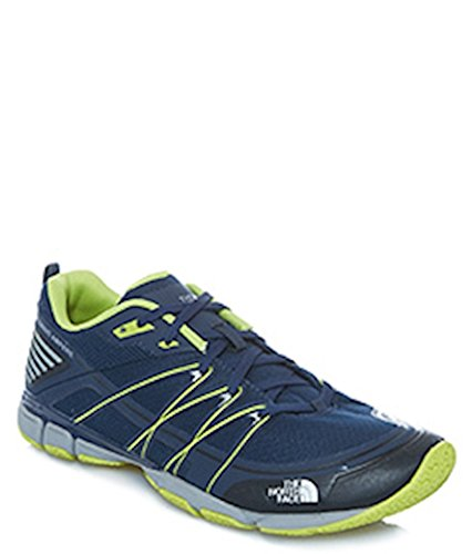 The North Face Men's Litewave Ampere, Cosmic Blue/Latern Green, 10 D - Medium