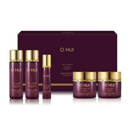 - OHUI Age Recovery Miniature Kit 5EA (baby collagen / Anti wrinkle Intensive firming) & Sample Gift