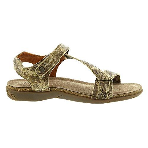 M 42 Women's Strap EU Multi Zeal Footwear Ankle Taos Sandal Taupe Nubuck BqTPw