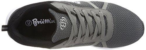 Formation Unisexe Bruetting D'actifs Schwarz Schwarz Grau grau Chaussures Adultes Gris De XwqtUxE5