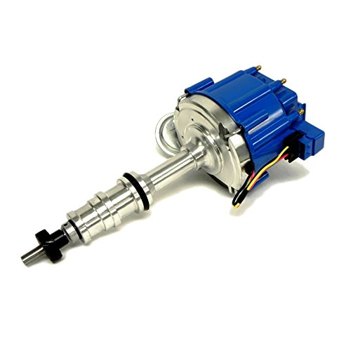 Assault Racing Products 1039013 Ford BBF FE V8 50K One Wire HEI Distributor 352 360 390 406 427 428 Blue Cap New (Torino Distributor 1974 Ford)