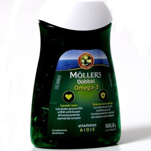 MOLLERS Dobebel omega-3, 112cápsulas de 600 mg: Amazon.es: Salud y cuidado personal