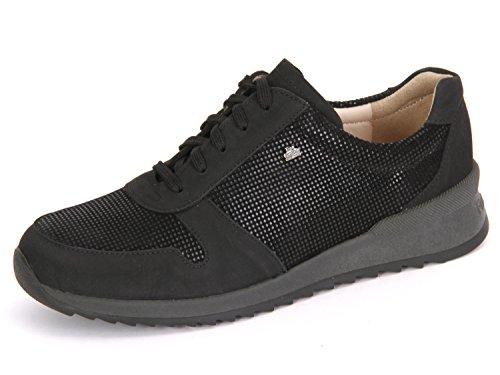 Finn comfort sidonia, damenhalbschuh, points 2364–901376 nubuk/noir - Noir - Noir, 4