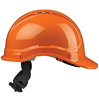 Scott Safety HC325/VO - Casco de trinquete con ventilación SB, color naranja