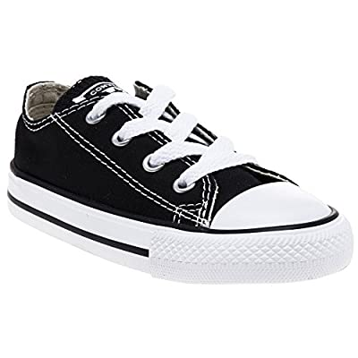 Converse As Ox Core Inf Infants Black Canvas Trainer