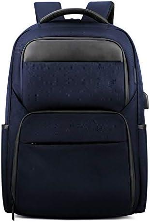 Msbir Stylish Shoulder Bag Multi-Functional Business Computer Bag Anti-Splash Water 18 Inch Blue Rucksack packtaschen für Rucksack Cooler Rucksack Rucksack Tasche Herren Rucksack Sport wasserdicht