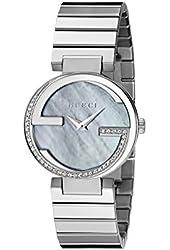 "Gucci Women's YA133509 ""Interlocking Iconic"" Stainless Steel Watch"