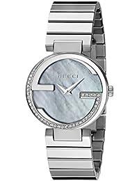 "Interlocking Iconic"" Stainless Steel Women's Watch(Model:YA133509)"