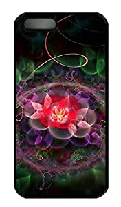 The Circle Of Beautiful Flowers Durable and Comfortable iPhone 5s Cases - Personalized Hard Printed Cases