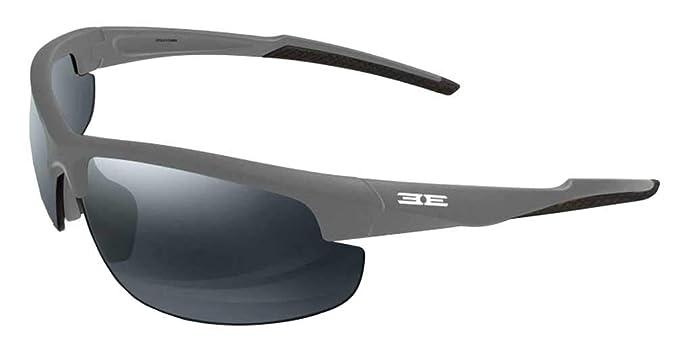9f589d091b Epoch Eyewear Epoch 7 Matte Finish Sunglasses Gray Blue Frame (GrayBlue  Smoke) at Amazon Men s Clothing store