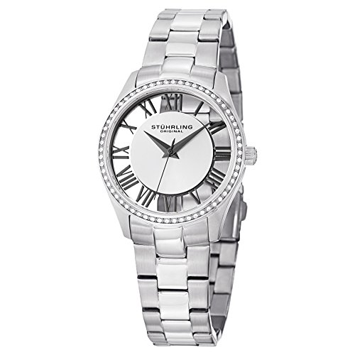 Stuhrling Original Women's 750L.01 Vogue Ciara Swiss Quartz Stainless Steel Watch