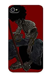 New Design Shatterproof EVrFAYW9826paSuw Case For Iphone 4/4s (afro Samurai) For Lovers