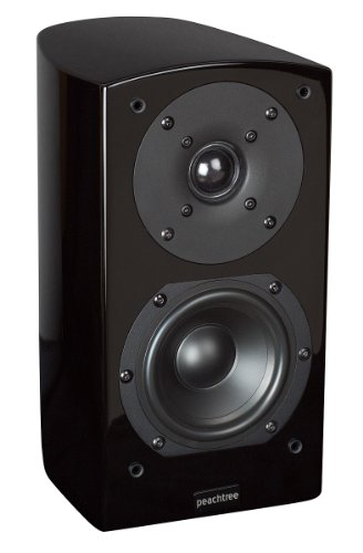 Peachtree Audio D4 Monitor Speaker (High Gloss Bla...